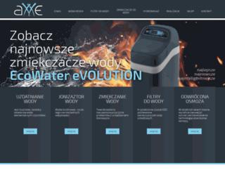 axxe.pl screenshot