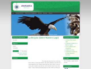 ayahuascamexico.com screenshot