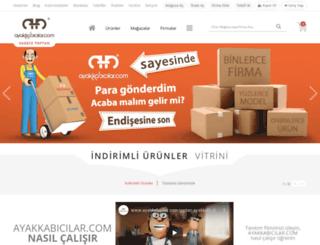 ayakkabicilar.com screenshot