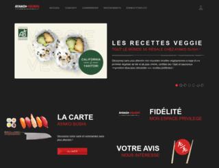 ayakosushi.fr screenshot