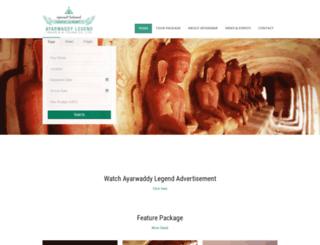 ayarwaddylegend.com screenshot