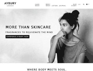 aybury.myshopify.com screenshot