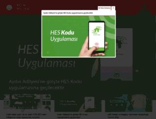 aydin.adalet.gov.tr screenshot
