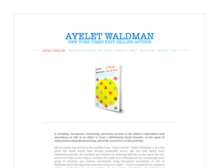 ayeletwaldman.com screenshot