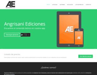 ayleditores.com.ar screenshot