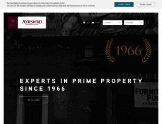 aylesford.com screenshot