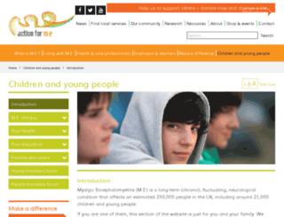 ayme.org.uk screenshot
