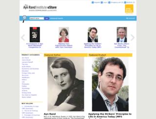aynrandbookstore2.com screenshot