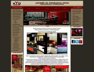 ayo-meble.pl screenshot