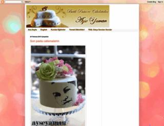 ayseyaman.blogspot.com screenshot