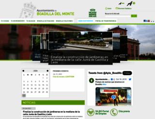 ayuntamientoboadilladelmonte.org screenshot