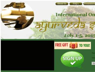ayurveda-summit.com screenshot