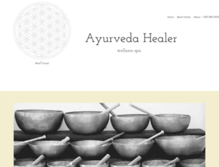 ayurvedahealer.com screenshot