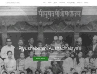 ayurvedicclinic.net screenshot