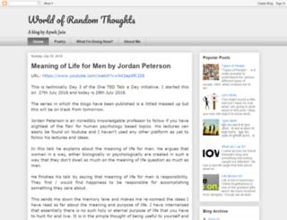 ayushjain.blogspot.com screenshot