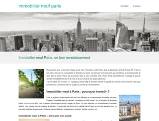az-immobilier.fr screenshot