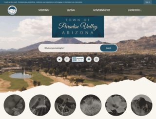 az-paradisevalley2.civicplus.com screenshot