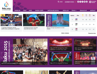 az.baku2015.com screenshot