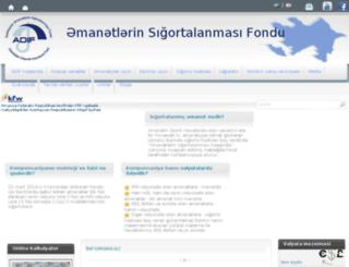 az.banktechnique.az screenshot