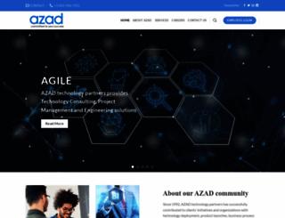 azad.com screenshot