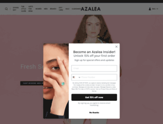 azaleasf.com screenshot