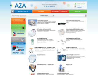 azamedical.com screenshot
