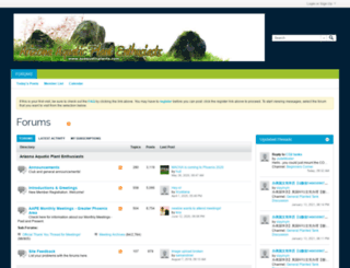 azaquaticplants.com screenshot