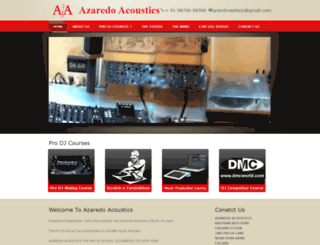 azaredo.com screenshot