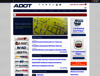 azdot.gov screenshot