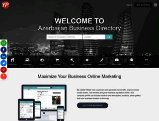 azerbaijanyp.com screenshot