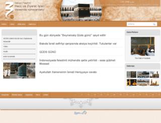 azeri.hajj.ir screenshot