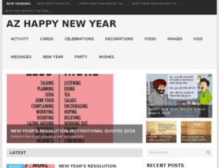 azhappynewyear.com screenshot