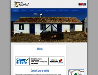 azinhalturismorural.com screenshot