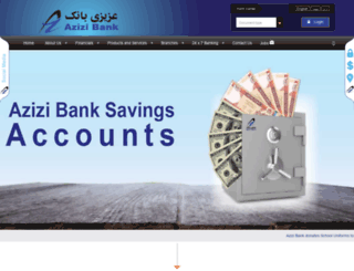 azizibank.com screenshot