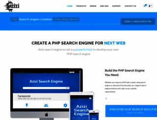 azizisearch.com screenshot