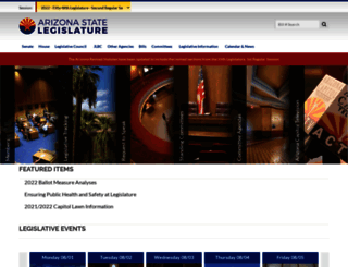 azleg.gov screenshot