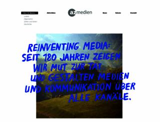 azmedien.ch screenshot