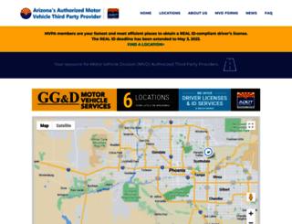 azmvdservices.com screenshot