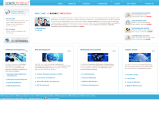 azonicinfotech.com screenshot