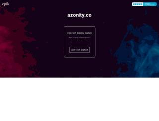 azonity.co screenshot