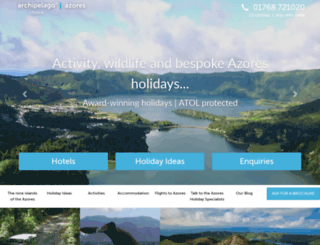 azoreschoice.com screenshot
