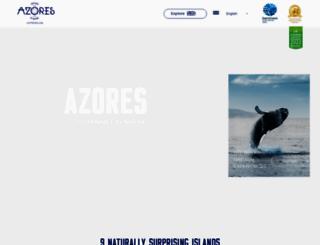 azoreswaveweek.visitazores.com screenshot