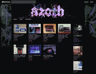 azoth-tapes.bandcamp.com screenshot