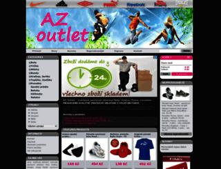 azoutlet.cz screenshot