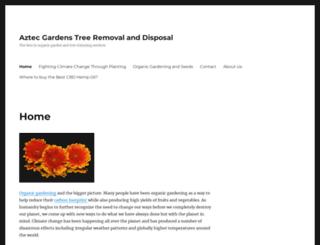 aztecgardens.com screenshot