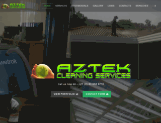 aztek.co.za screenshot