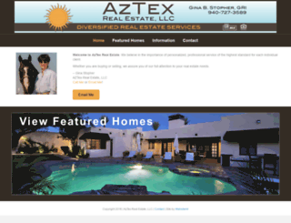 aztexrealestatellc.com screenshot