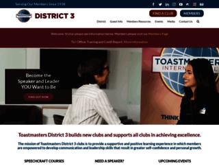 aztoastmasters.com screenshot