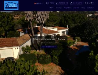 azul-properties.com screenshot