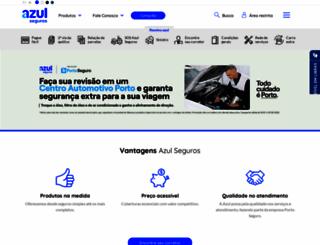 azulseguros.com.br screenshot